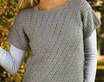 Free Crochet Pattern For Ladies Gilet : Ladies gilet pattern Etsy