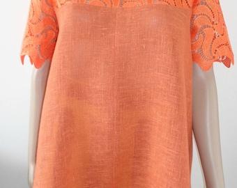 Women's linen blouse