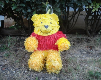 Winnie the Pooh pinata my interpretation of this lovable bear