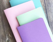 Pastel on Pastel Traveler's Notebook Insert Bundle  - Choice of 10 Patterns and 9 sizes