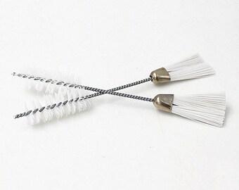 2-Way Lint Brush for Sewing Machine DIY Decorative Knitting Craft Art Decor O027
