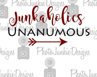 Cutting File Junkaholics  SVG PNG Cutting File Digital File
