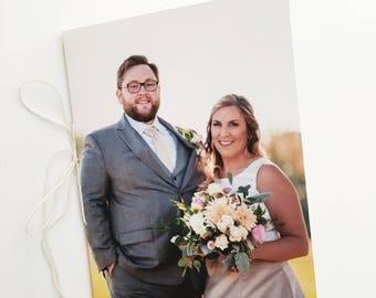 Personalized Wedding Photo Journal