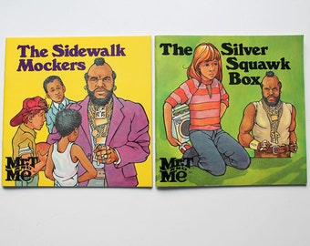 Set of 2 Mr. T and Me Books 1985