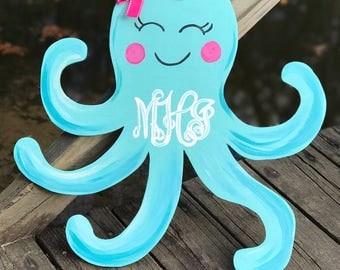 Octopus door hanger