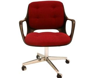 Mid Century Modern Office Chair Hermann Miller Style