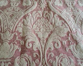 French Vintage Retro Unused  Baroque Rococo Rusty Reds 1m.