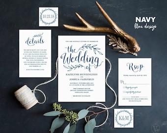 wedding invitations | etsy, Wedding invitations