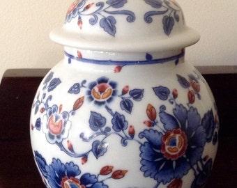 Genuine Vintage 1979 Porcelain Lidded Jar. Estée Lauder.