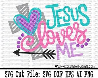 Easter SVG, Jesus loves me Easter svg, Christian svg, cross svg, Jesus love me svg, religious svg, socuteappliques, scrapbook file