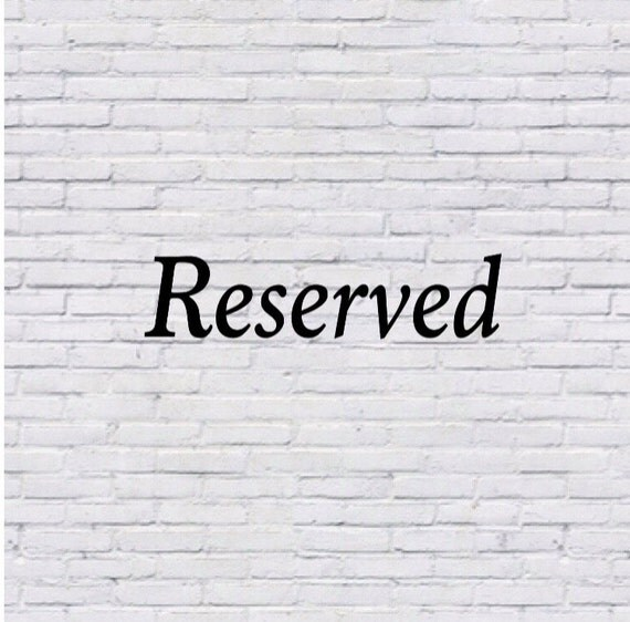 Reserved for axl377