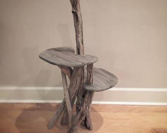 Small Driftwood Cat Climbing Tree. Handmade from Reclaimed Driftwood
