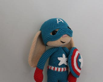 PATTERN - Captain America Bunny