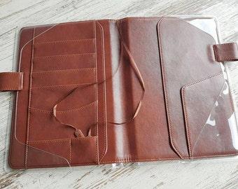 Hobonichi cover brown