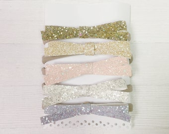 Simple Glitter Bow