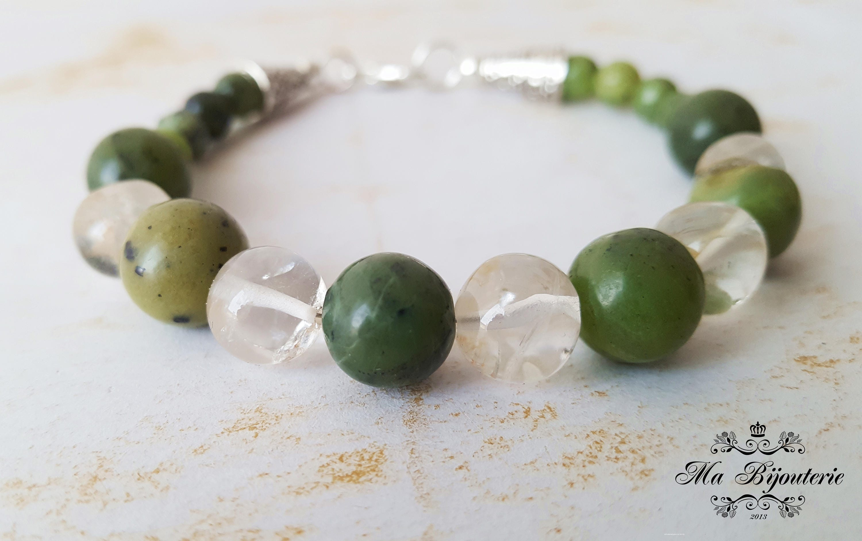 braceletgreen petite quartz judith stone sterling lyst silver la green gallery product bangle three ripka jewelry bracelet