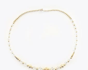 Kids Clear Freestyle with Twist Necklace
