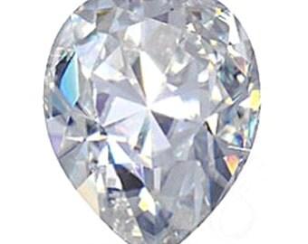 NEO PEAR Cut Moissanite Color E-F Neo Loose Gemstones Colorless Pear Cut Moissanite Large Sizes Moissanite Engagement Ring Loose Moissanite