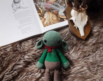 Mordred the Goblin Amigurumi crochet doll toy plush