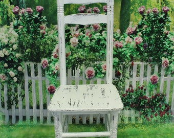 Rustic chair, Vintage chair,  Furniture, Photo Display Prop, kids props