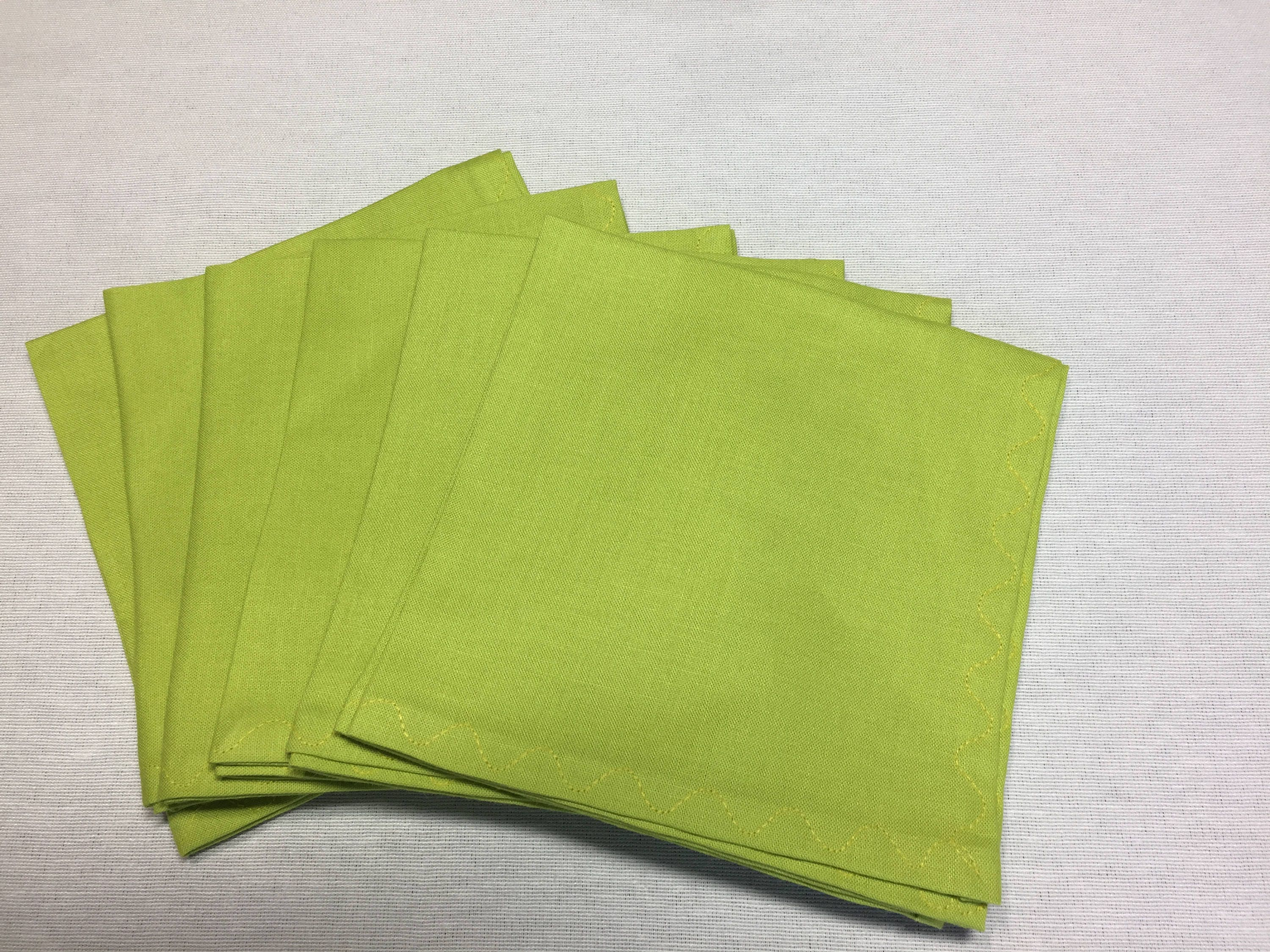 Uncategorized Fabric For Napkins lime green napkins cloth dinner table linens reusable cotton fabric napkins