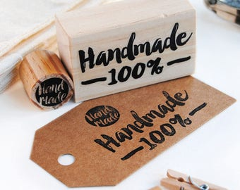hand made stamp set, small business stamp, mini hand made stamp, etsy shop supply, mini stamp handmade, craft supplies, hand made products