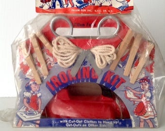 Vintage Little Miss Ironing Kit