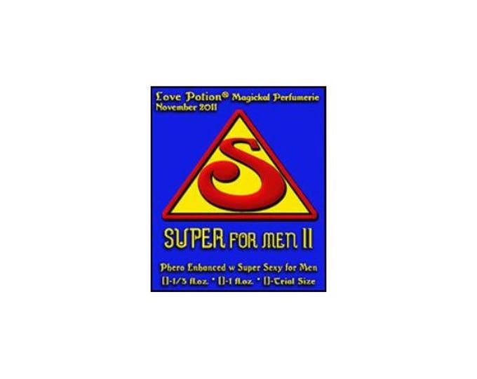 Super- For Men - Pheromone Enhanced Fragrance - Love Potion Magickal Perfumerie