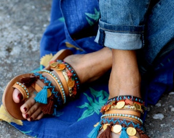 "Sandals ""Marrakesh"" (handmade to order)"