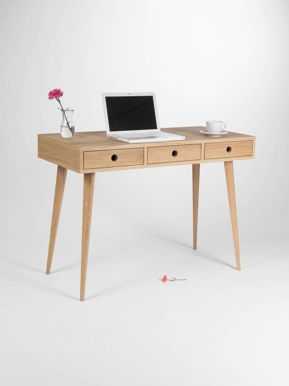 Like this item. Home desk bureau dressing table wooden desk oak wood mid