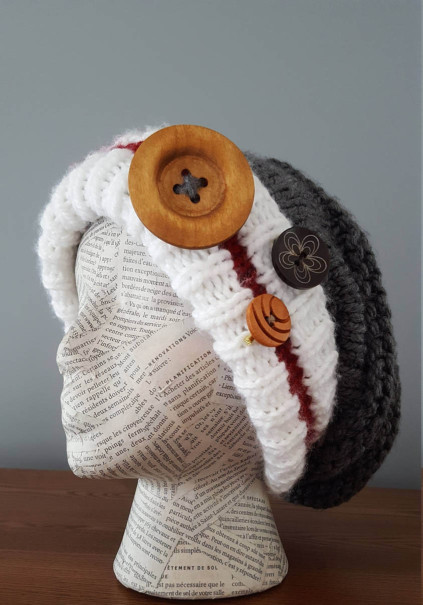 Work Sock Hat Knitting Pattern : Knitting pattern work sock hat winter