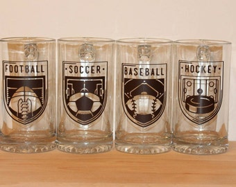 Seasonal Beer Steins/ Wine Glasses