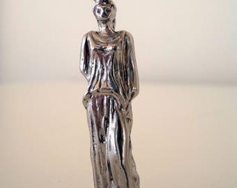 Caryatid keychain |Caryatid Acropolis jewelry |Greek goddess jewelry |Caryatid ancient Greece |Caryatid Parthenon symbol |