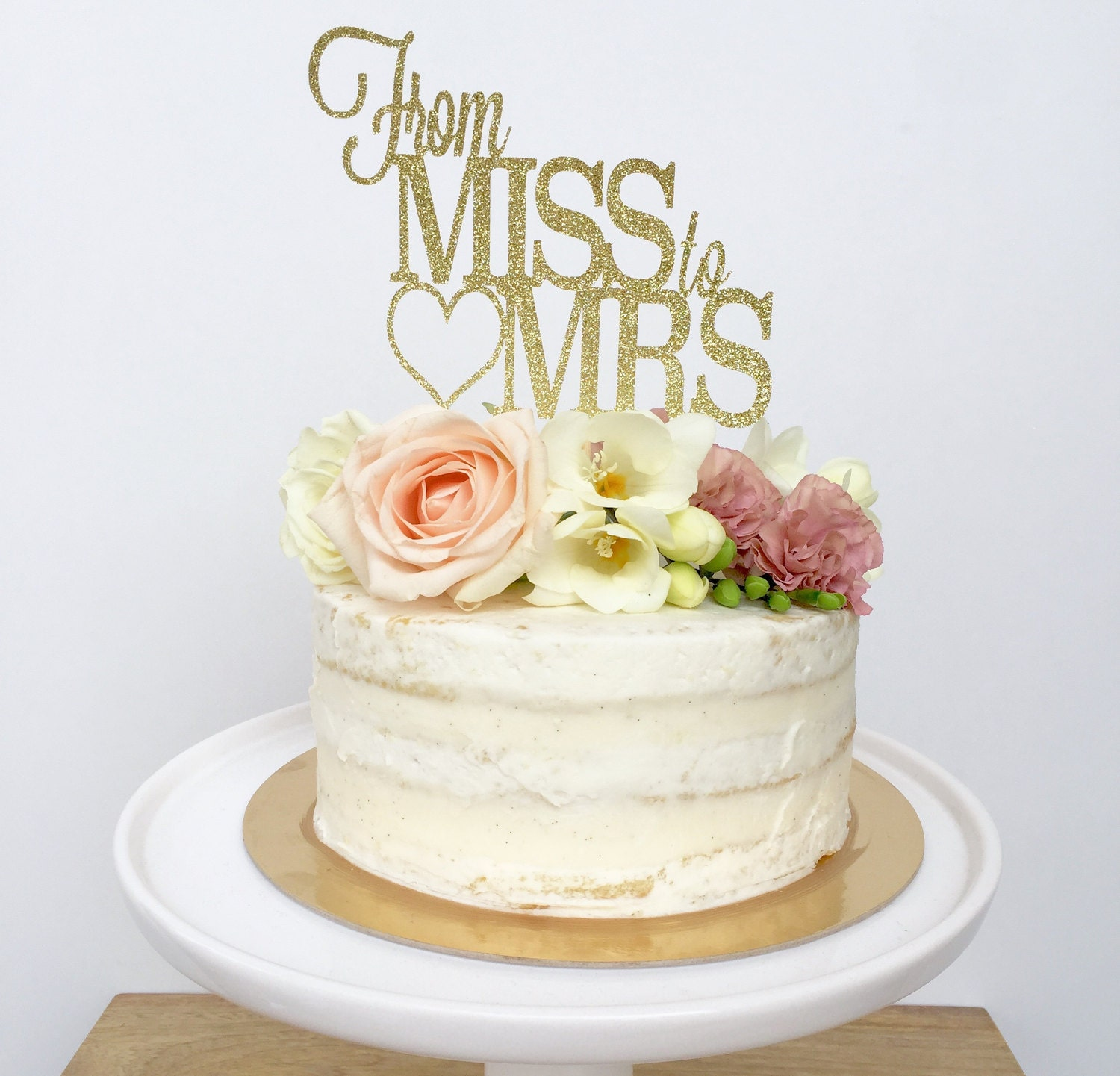 bridal shower cake toppers from miss to mrs cake topper bridal shower cake topper 2063