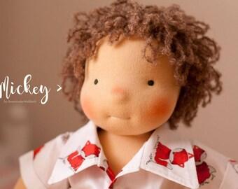 Free shipping! Mickey - 16 inch Waldorf doll by Down Under Waldorfs, Handmade, Waldorf Inspired, Boy, Doll, Eco toy, Steiner doll