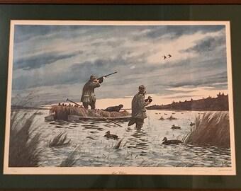 Duck Hunting Prints Etsy