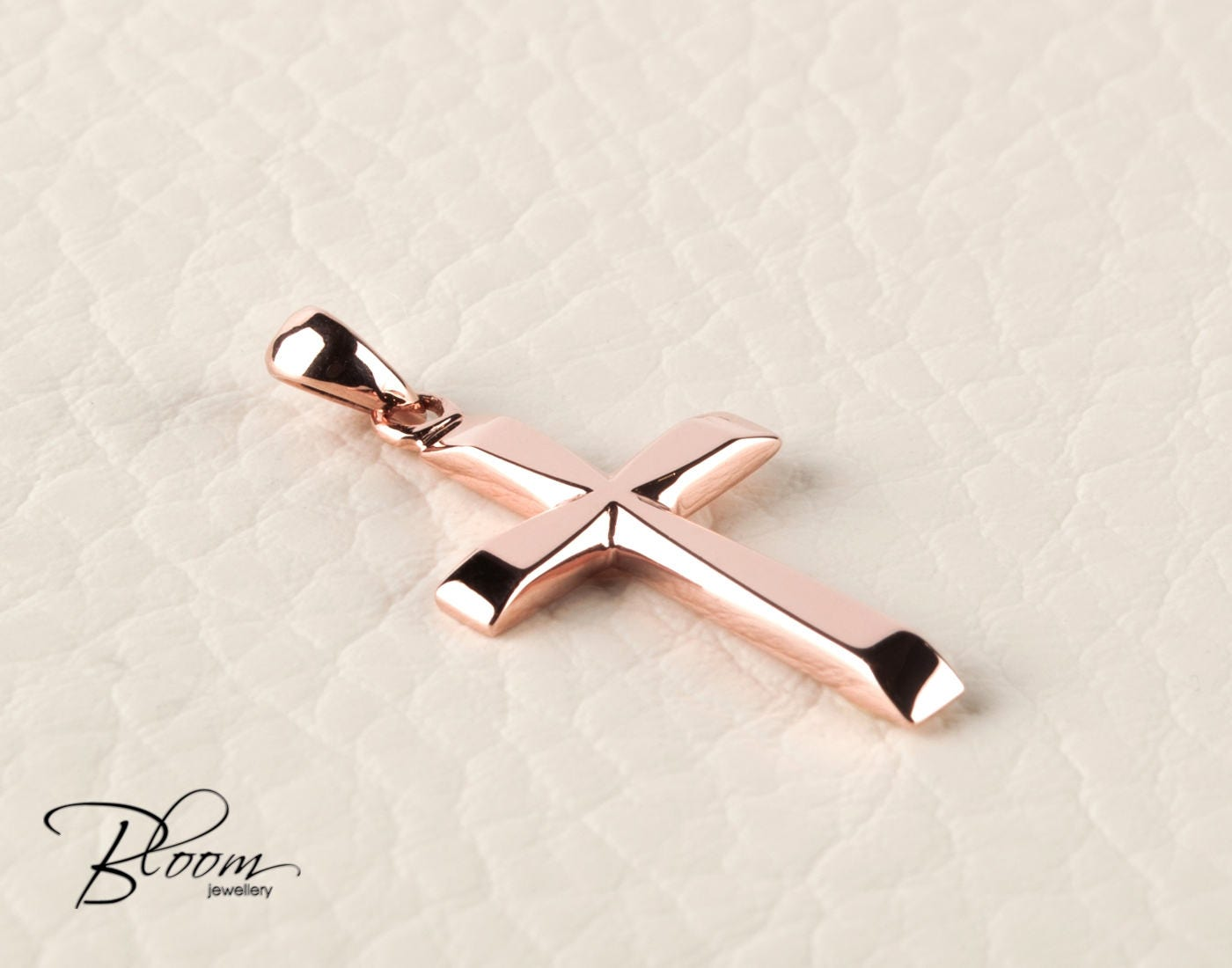 rose gold cross necklace rose gold pendant for men rose gold. Black Bedroom Furniture Sets. Home Design Ideas
