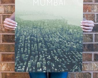 Mumbai Poster 11x17 18x24 24x36