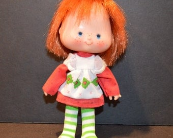 Vintage 1980's Strawberry Shortcake Doll