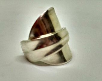 Silver Spoon Ring S011
