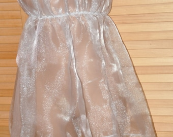 Sheer organza sissy dress, Sissy Lingerie