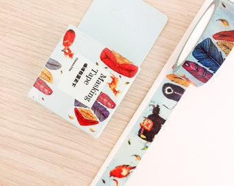 Cute washi tape - feathers | Cute Stationery