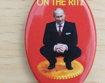 Putin Ritz button