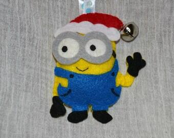 Minion Ornament Or Keychain