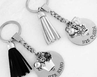 His Queen & Her King - Keyring Set