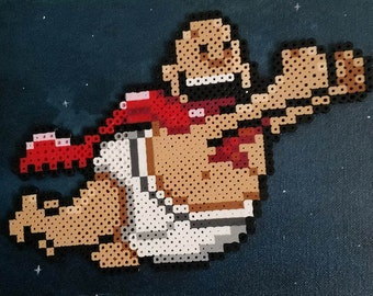 Captain Underpants Fuse Bead Pattern (Perler Beads)