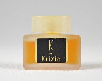 K de KRIZIA 1982 Lady mini perfume