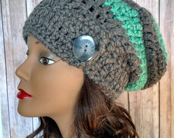 Crochet Women's Slouchy Hat