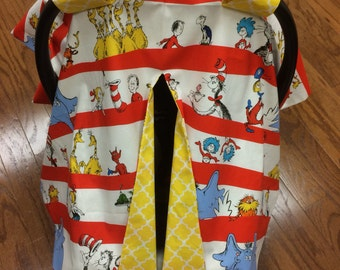 Dr. Seuss Car Seat Canopy