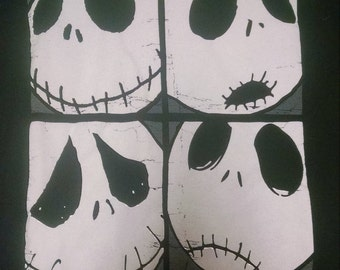 Custom made to order Nightmare Before Christmas Jack Skellington bag